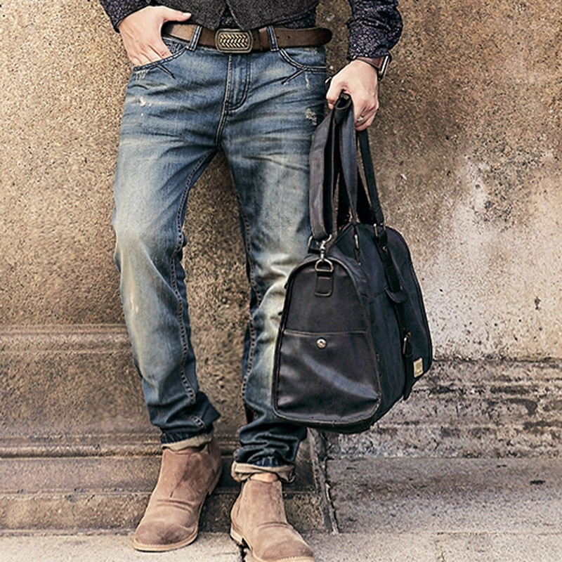 Brand-motorcycle-denim-biker-jeans-men-Slim-Fit-Washed-Vintage-Ripped-jeans-for-men-Elastic-Denim-2