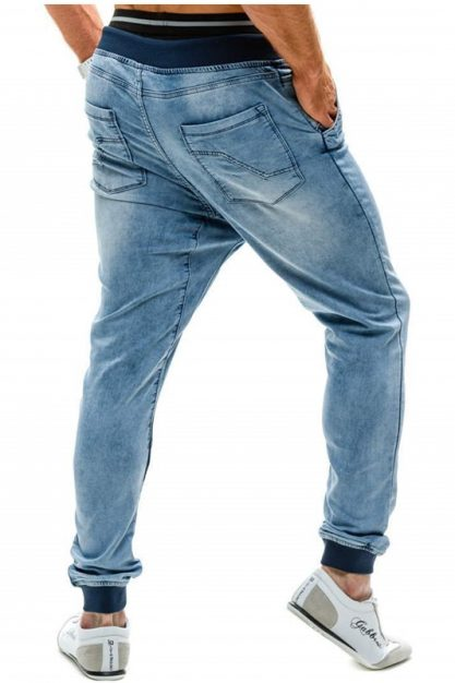 2020-New-Elastic-High-Waist-Jeans-European-and-American-Threaded-Waist-Jogging-Trousers-for-Men-Patchwork-1